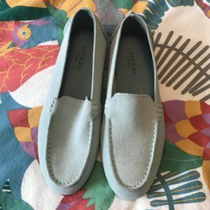 Brand New Sperry Bay View Shoe Mint Green Size 6